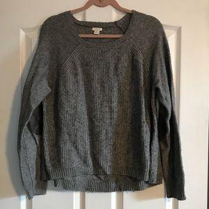 XL J Crew Grey Sweater